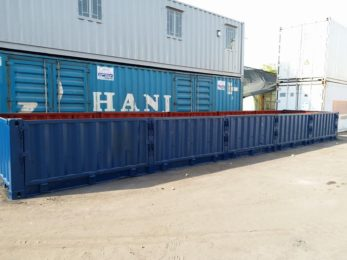 11-Container lửng, 5 cửa sườn